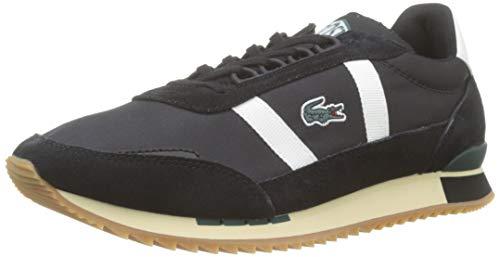Lacoste Herren Partner Retro 319 1 SMA Sneaker, Schwarz (Black/Offwhite), 44 EU