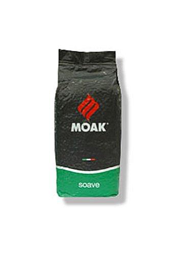 Moak Kaffee Espresso - Miscela Bar Soave, 1000g Bohnen