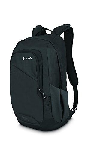 Pacsafe Travel Backpack Black, 15 Liter Venturesafe 15L GII Anti-Theft Daypack, Color (60280100)