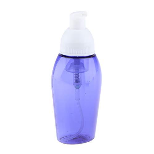 MERIGLARE Dispensador de Champú con Bomba de Jabón Espumoso de 80 Ml Loción de Botella de Espuma Líquida