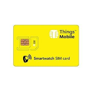 Tarjeta SIM para SMARTWATCH / RELOJ INTELIGENTE – Things Mobile –
