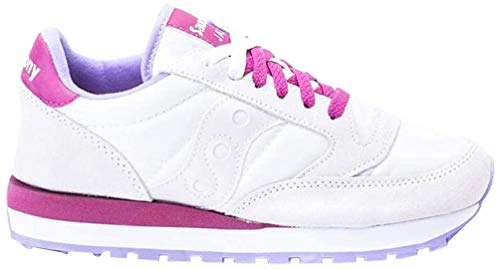 Saucony Scarpa Sneakers Donna Jazz Bianco/Ciclamino/Lilla