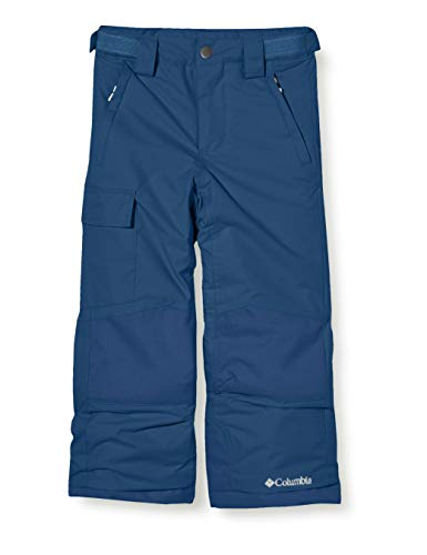 Columbia Enfant Pantalon de Ski Imperméable, Bugaboo II Pant, Nylon, Bleu (Dark Mountain), Taille L, 1806712