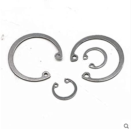 Inner Diameter: Hole 22 20pcs Ochoos Standard 304 Stainless Steel Hole with circlip Ring Inner Card circlip C Type circlip GB893 retaining Ring hole8-36
