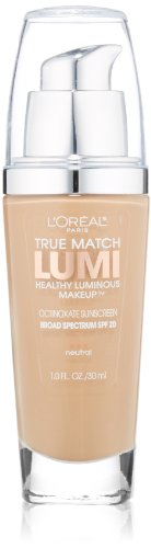 L'Oreal Paris True Match Lumi Healthy Luminous Makeup, Buff Beige, 1.0 Ounces by L'Oreal Paris