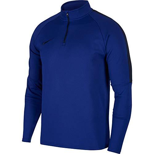 Nike Dry Academy Drill Top Maglia da Allenamento, da Uomo, Uomo, 839344-458, Deep Royal Blue/Obsidian, XL