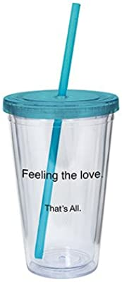 DC Comics Silver Buffalo Batman BK05087 Comic Pop 16-Ounces Plastic Cold Cup with Lid and Straw