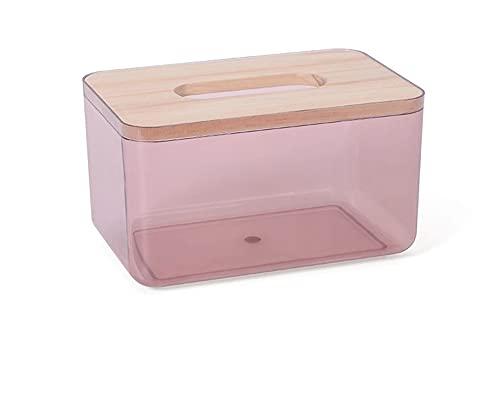 WYDMBH 1 unid nórdico Minimalista toallitas húmedas toallitas de toallitas contenedor ecológico fácil de Transportar Limpieza cosmética Limpieza Caja de Almacenamiento (Color : S Red)