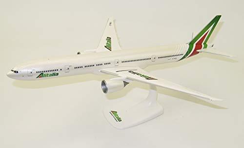 Herpa- Boeing 777-300ER Roma di Alitalia in Miniatura per la Collezione Artigianale e Come Regalo, 612555