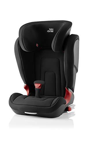BRITAX RÖMER Siège Auto KIDFIX 2 R, Confortable avec Protections Latérales, enfant de 15 à 36 kg (Groupe 2/3) de 3.5 ans à 12 ans, Cosmos Black
