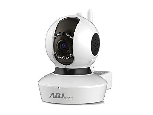 ADJ 700-00060 Telecamera Angel HD Wi-Fi per Videosorveglianza, Bianco