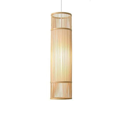Libuty Bar Decoración de Mimbre Luces Pendientes Accesorios de la casa de té Habitación Sala de la lámpara del Restaurante del sudeste asiático de bambú del Arte de Mimbre Rota Sombras de la Armadura