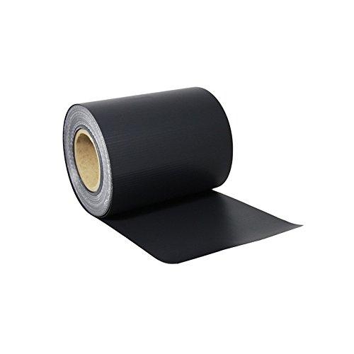 MCTECH Protezione per Parabrezza PVC Parabrezza Extra Spesso Non Trasparente Pellicola Protettiva per Recinzione Nastro stuoia (65m x 19cm, Antracite)