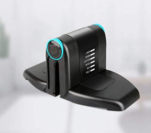 FANGCOOL Plancha portátil Plegable Mini Plancha Pequeña para el hogar Colgante portátil Plancha eléctrica-Negro