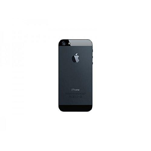 Third Party - Coque Arrière Noire Complète iPhone 5 - 0583215027159