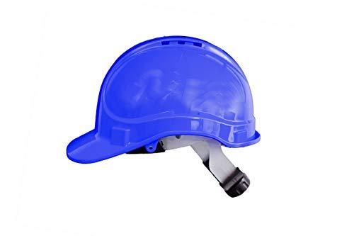 Irudek Protection 302601300008 Casco para industria y contrucción STILO 300V | Certificado Europeo EN 397, EN 50365, 30º, 440V c.a, Azul