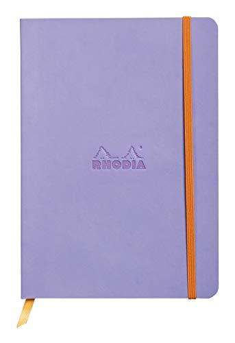 Rhodia Color Soft Cover Goalbook - Cuaderno Flexible, A5, Lila Claro