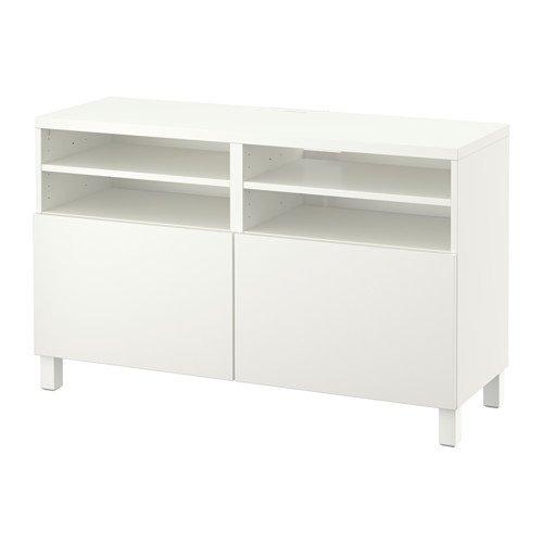 Ikea TV-Bank mit Türen, Lappviken weiß 8202.202611.1418