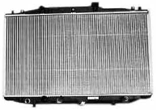 TYC 2569 Honda Accord 1-Row Plastic Aluminum Replacement Radiator