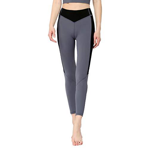 nonbranded Leggings de mujer Nuevos pantalones elásticos de cintura alta transpirables de secado rápido Pantalones deportivos de fitness