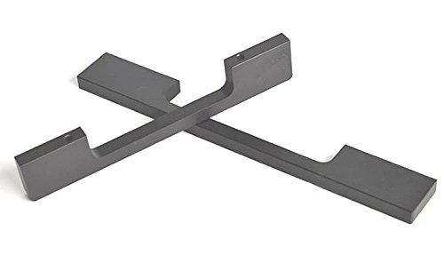 KFZ moderne minimaliste Armoire Poignée tiroir Pull Knpbs, tables à langer, armoire Poignées de meubles de porte, Noir en alliage d'aluminium Cabinet Hadware, noir