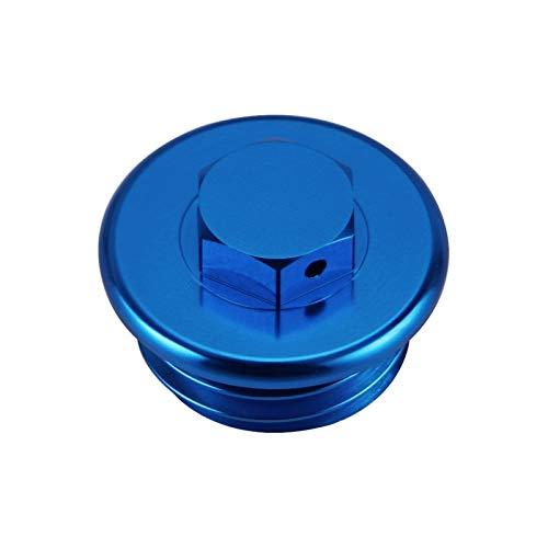 YYOMXXOM Cubierta de tapón de tapón de llenado de Aceite de Combustible Ajuste para KTM SX SXF Exc excuc XC xcw xcf xcfw 50 65 85 105 125 150 250 350 450 525 690 1290 Super Duke (Color : Blue)