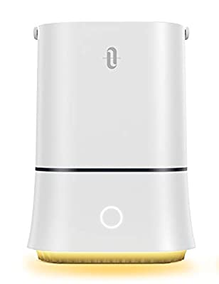 TaoTronics Cool Mist Humidifiers, Quiet Ultrasonic Humidifier for Bedroom,Large Home,Baby Room Sleep Mode Waterless Auto Shut-Off Smart 4L Air Humidifiers- Lasts Up to 50 Hours