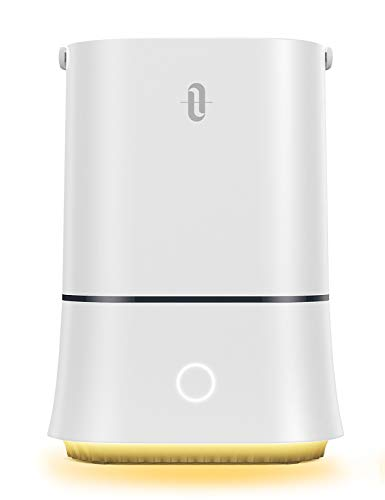 TaoTronics Cool Mist Humidifiers for Bedroom, 28dB Quiet Ultrasonic Humidifier for Home, Baby Room - Sleep Mode Waterless Auto Shut Off, 4L Easy to Clean Water Tank- Lasts Up to 50 Hours