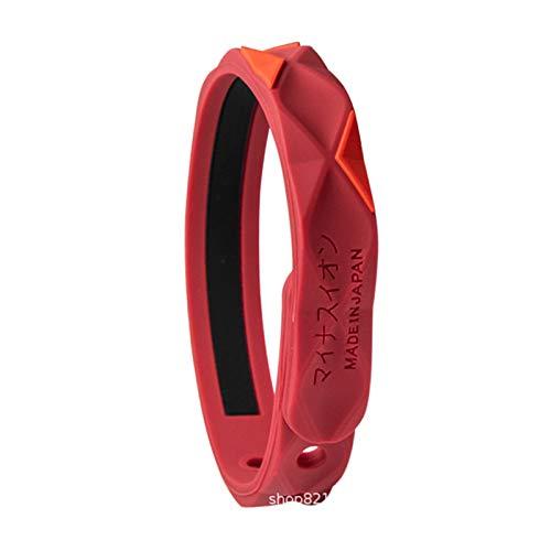 Akin Pulsera deportiva eliminadora electrostática, pulsera inalámbrica de eliminación estática, pulsera de energía de iones negativos, pulsera antiestática para mujeres, hombres, niños y mayores.