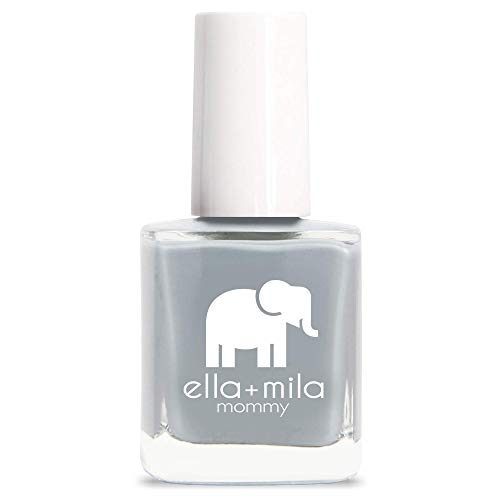 ella+mila Nail Polish, Mommy Collection - Grey Skies