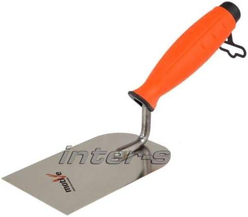 Maurerkelle Gipserspachtel Gipskelle 80-100mm Putzkelle PROFI Glättekelle Stahl