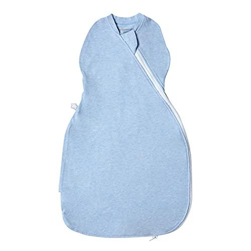 Tommee Tippee Pucksack Easy Swaddle, Original-Grobag, 0-3m, Biz zu 60cm, Blau