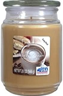 Mainstays Scented Candles, Hazelnut Cream, 20 oz