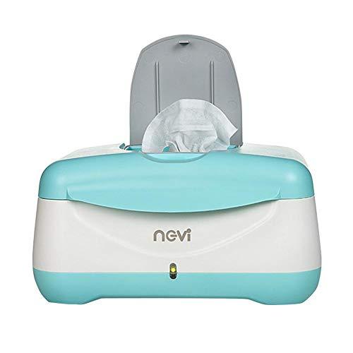 Createjia Baby Wipes Heizkoffer Baby Warm Wipes Heizbox Windeltuchspender Thermostat 24 12 17,5 Cm