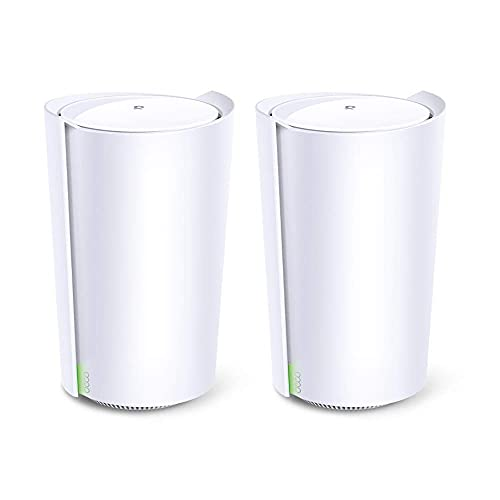 TP-Link AX6600 Whole Home AI-Driven Mesh Wi-Fi 6 System Routers, Tri-Band with Smart Antennas (Renewed)