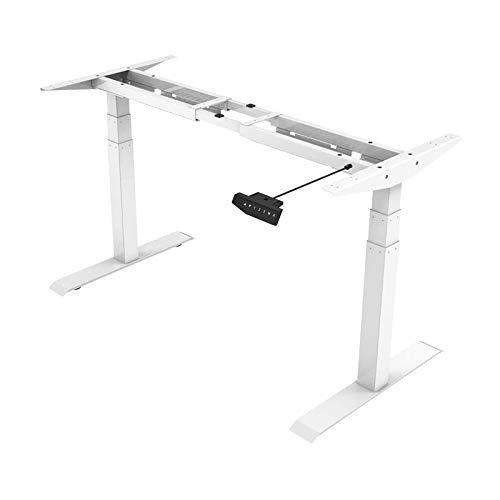 Flexispot E6 Höhenverstellbarer Schreibtisch Elektrisch höhenverstellbares Tischgestell 3-Fach-Teleskop, mit Memory-Steuerung und Softstart/-Stop & integriertes Anti-Kollisionssystem