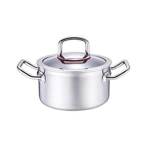 Complément Alimentaire en Acier Inoxydable Petit Pot à Lait 304 Mini Pot en Acier Inoxydable (taille : L)