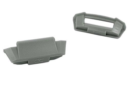 Casio Wave Ceptor Ersatzteile Grau Cover End Piece für WVA-420