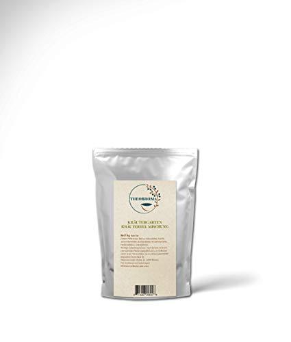 Tee Kräutergarten | Kräutertee mit bunter Kräutermischung | Großpackung für die Hotellerie und Großverbraucher, 1 kg loser Tee