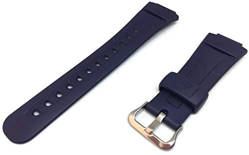 Cinturino di ricambio per orologio Casio G-2900F di colore blu navy