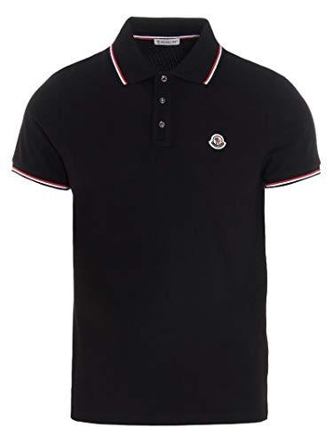 Moncler Luxury Fashion Herren 8A7030084556999 Schwarz Poloshirt |