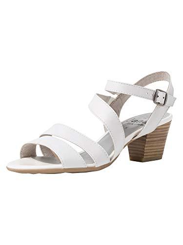 Jana Femmes Sandale à Talon 8-8-28312-24 100 Largeur H Taille: 41 EU