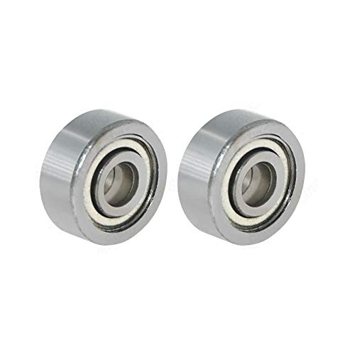 YUANJING-PHONECASE Durable Firm Safe 10pcs/lot 623ZZ Deep Groove Ball Bearings 623-ZZ Pulleys Stainless Steel Wheel Miniature Bearings For 3D Printer Parts Ball bearing