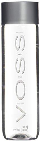VOSS Water Still 500 ml, natürliches Mineralwasser, 24er Pack (Einweg, 24 x 500 ml)