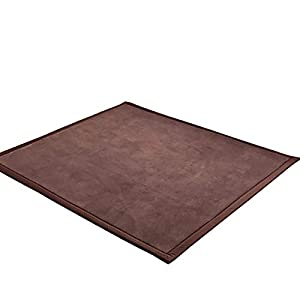 ZAIPP 3cm Thick Thicken Coral Fleece Mat,not-Slip Baby Safe Carpets,Children Crawling Rug for Living Room,Baby's Bedroom