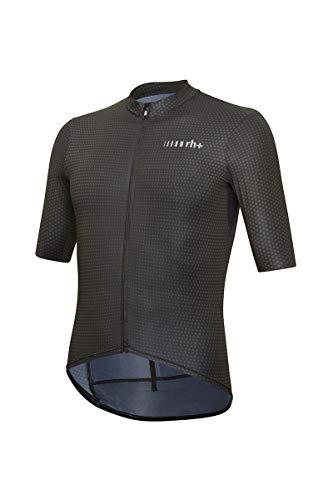 Zero Rh+ Super Light, Abbigliamento Man Bike Jersey Uomo, Black/Dark Grey Degrade', L