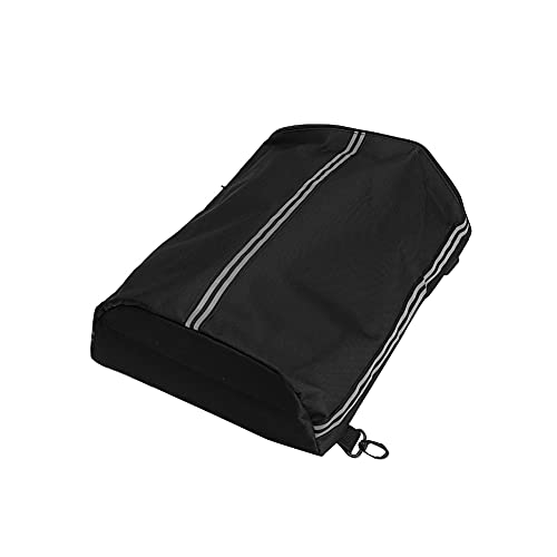 SYCOOVEN Kayak Deck Bag with Hooks Reflective STRPS Outdoor Water Sports SUPs Storage(Black)