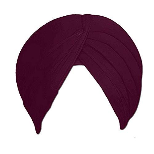 Business Peoples Shahi Sikh Traditional Turbans/Punjabi Hat/Punjabi Pagri/Sikh Full Voile Turban for Men and Boys