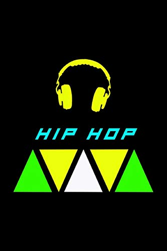 Hip Hop Notizbuch: Schönes Hip Hop Notizbuch mit Kopfhörer / Das Buch enthält 120 karierte Seiten im A5 Format