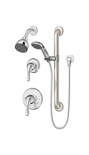Symmons 9606-PLR-TRM Origins - Embellecedor para grifo de bañera y ducha, cromado